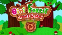 Forest Animals Puzzles for Toddler or Children | Bini Forest Create & Play by Bini Bambini