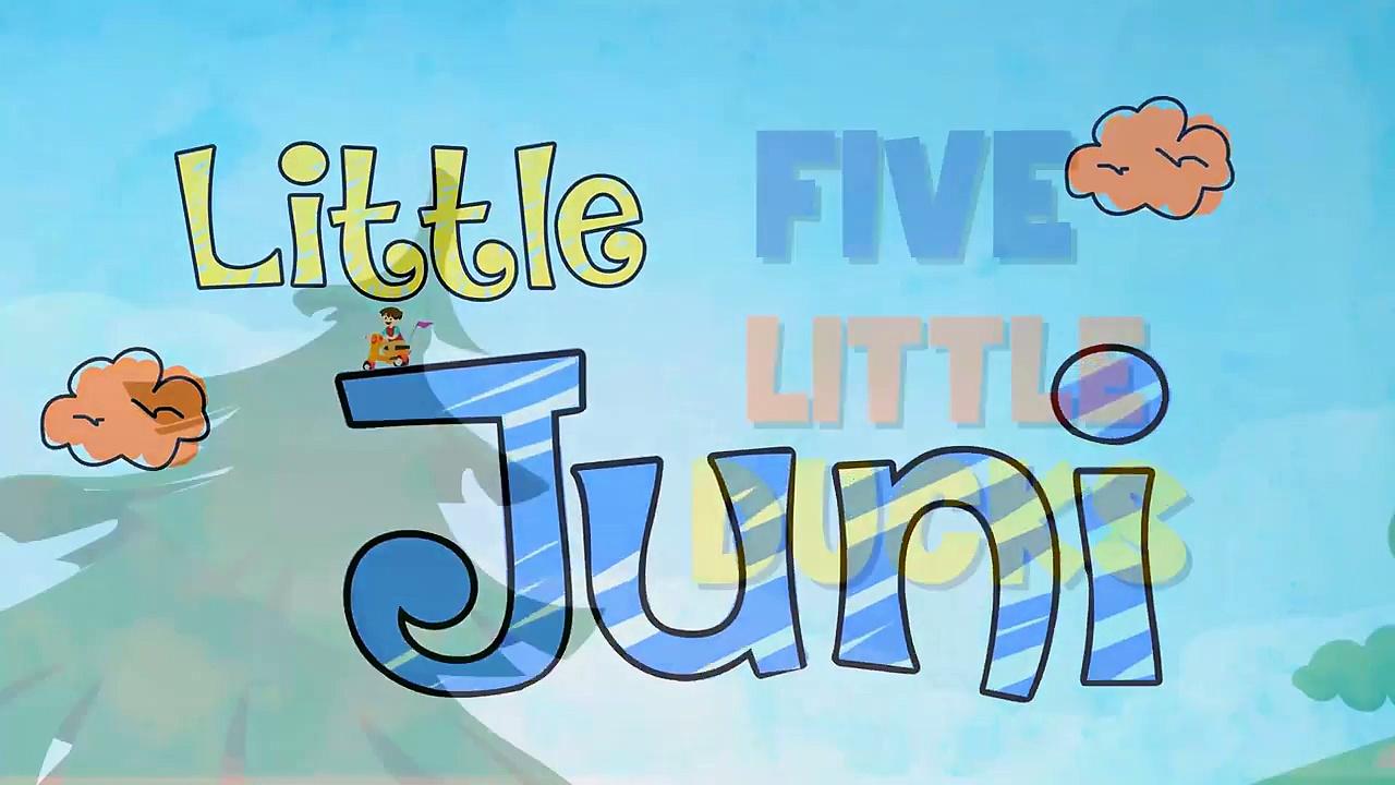 Five Little Ducks | Five Little Ducks Went Swimming Song | Nursery Rhyme with lyrics