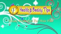 HOME REMEDIES FOR HAIR FALL PART 1 II झड़ते बालों की समस्या के लिए घरेलू उपचार भाग 1 II