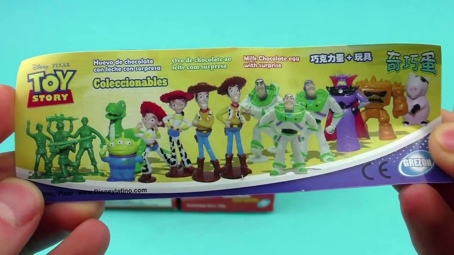 Toy Story Surprise Eggs Unboxing - Buzz Lightyear, Little Green Men, Jessie - Toy Story Toys