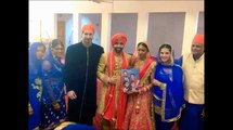 Sunny Leone In New Look In His Brother Wedding Going Viral