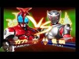 Sieu Nhan Game Play | siêu nhân dế | Game kamen rider climax heroes | Rider Kabuto vs Rider Kiva