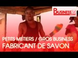 Petits Metiers / Gros Business - La fabrication du savon Kabakrou à Abidjan
