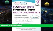 Pre Order Common Core Assessments and Online Workbooks: Grade 7 Language Arts and Literacy, PARCC