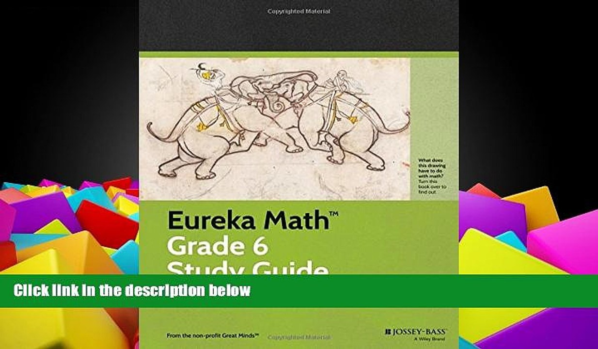 Pre Order Eureka Math Grade 6 Study Guide (Common Core Mathematics) Great  Minds mp3