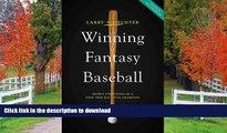 READ Winning Fantasy Baseball: Secret Strategies of a Nine-Time National Champion Kindle eBooks