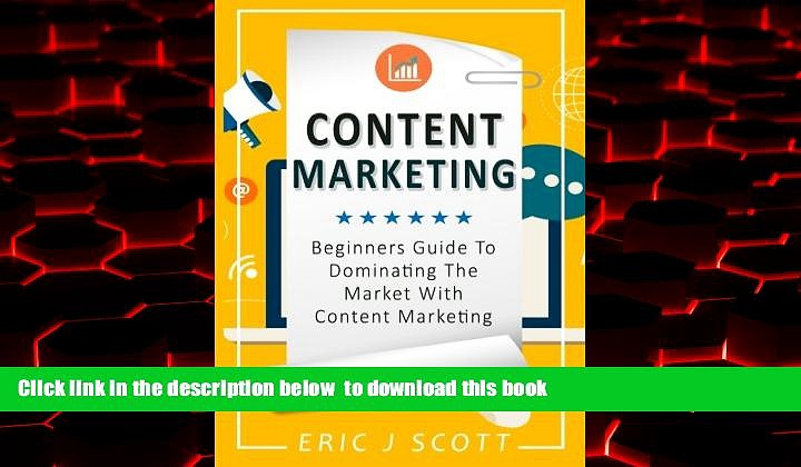 BEST PDF  Content Marketing: Beginners Guide To Dominating The Market With Content Marketing