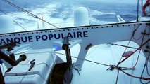 J40 : Armel Le Cléac'h en bordure du cyclone / Vendée Globe
