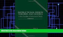 Pre Order Instructional-design Theories and Models: A New Paradigm of Instructional Theory, Volume