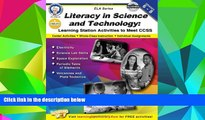 Pre Order Literacy in Science and Technology, Grades 6 - 8: Learning Station Activities to Meet