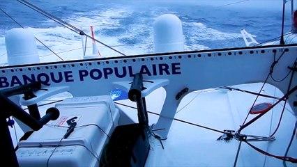16/12/16 - Brouillard sur le Pacifique - Vendée Globe 2016/2017 - Voile Banque Populaire