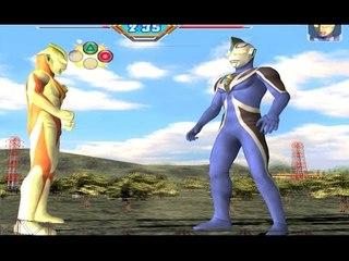 Sieu Nhan Game Play | Ultraman Gaia đâu với Ultraman Agul | Game Ultraman figting eluvation 3