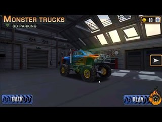 Monster Trucks | Ôtô quái vật | chơi game monster trucks 3D cùng siêu nhân game play