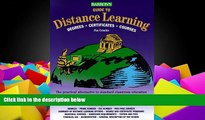 Online Pat Criscito Barron s Guide to Distance Learning: Degrees, Certificates, Courses (Barrons