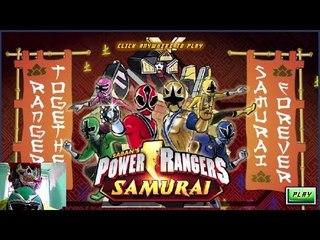 Sieu Nhan Game Play | Cùng chơi game siêu nhân | Power rangers samurai together forever