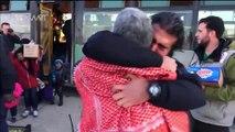 A Alep, les émouvantes retrouvailles de familles séparées par la guerre