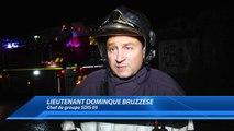 Hautes-Alpes : L'ancien restaurant le Pique-Feu a pris feu à Gap