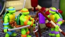 Teenage Mutant Ninja Turtles Classic Mega Bloks Meets Lego Ninja Turtles and Comic Book Ninja Turtle