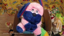 Box Full of Plush Toys: Teddy Bears, Puppies, Stuffed Animals for Babies!