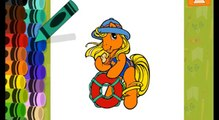 My Little Pony Beach Coloring -My Little Pony Games- Best Kids Games