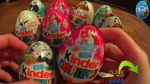A LOT OF CANDY, A LOT OF KINDER SURPRISE, 100 kinder candies