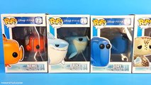 Finding Nemo Dory Toys Nemo Funko Pop Toys with Finding Dory Bruce & Crush