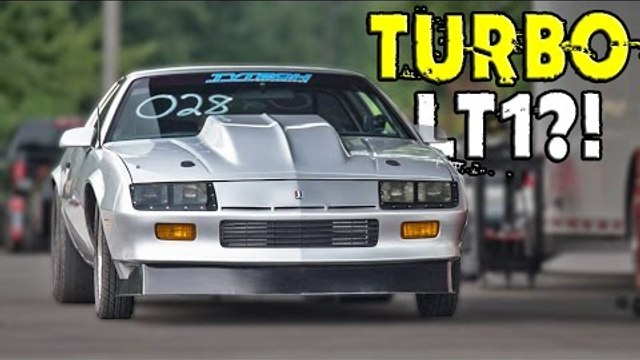 ULTIMATE Street Car with a REAR MOUNT Turbo setup!