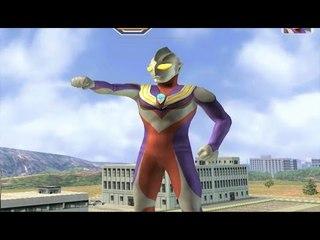 Sieu Nhan Game Play   Ultraman Tiga đấu với quái vật 1 mắt   Game Ultraman Figting eluvation 3
