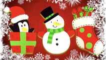 DIY How to Create Christmas Foam Magnets? #3 (Snowman, Penguin & Stocking)