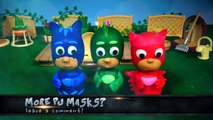 PJ Masks Play-Doh Episodes: Toilet Training Owlette Gekko and Catboy with Peppa Pig