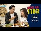 THỰC ĐƠN 1102 -  SỐ 82 | BÒ TƠ | Tronie - Hòa Minzy | Fullshow [ Ẩm Thực ]
