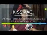 Ifa Raziah Komentator dari Malaysia Lebih Memilih Dandan di Hotel  - Kiss Pagi