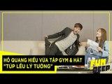 Hồ Quang Hiếu vừa tập gym & hát