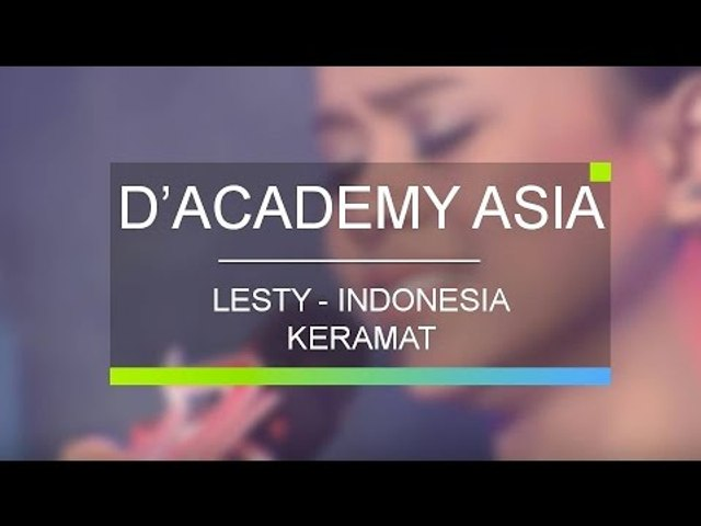 Lesti, Indonesia - Keramat (D'Academy Asia 10 Besar Group A Result)