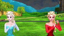 Frozen Fire Elsa Rain Rain Go Away ABC Phonic Rhymes | Ringa Ringa Roses Nursery Rhymes for Children
