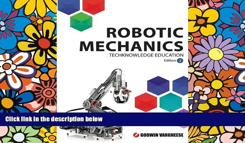 Price Robotic Mechanics: Edition 3 Mr Godwin Vargheese On Audio
