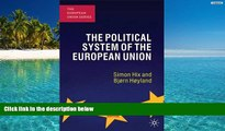 PDF [FREE] DOWNLOAD  The Political System of the European Union (European Union (Paperback Adult))