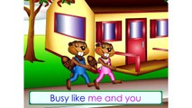 The Busy Beaver Song (Level 1 English Lesson 01) CLIP - Kids English Language Learning, ESL, EFL