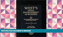 PDF [FREE] DOWNLOAD  West s Legal Environment of Business: Text and Cases--Ethical, Regulatory,