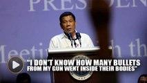 Duterte confirms he killed three men as mayor