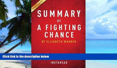 PDF  Summary of A Fighting Chance: by Elizabeth Warren | Includes Analysis Instaread Summaries  Book