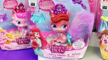 NEW Palace Pets Collection & Disney Princess Dolls Ariel Little Mermaid, Rapunzel, Cinderella, Belle