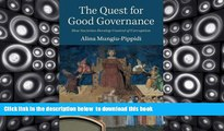 PDF [DOWNLOAD] The Quest for Good Governance: How Societies Develop Control of Corruption READ