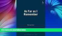 Read Online Michael Kerr As Far as I Remember Audiobook Epub