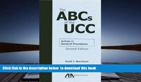 BEST PDF  The ABCs of the UCC Article 1: General Provisions FOR IPAD