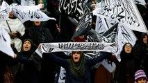 تظاهرات مخالفان دولت سوریه در مقابل اماکن دیپلماتیک ایران در ترکیه