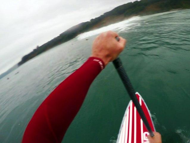 BIG Sup Surfing in La Verdad