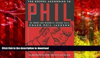 Audiobook The Gospel According to Phil: The Words and Wisdom of Chicago Bulls Coach Phil Jackson: