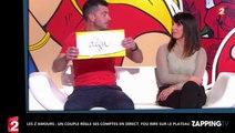 Les Z'Amours : Un couple règle ses comptes en direct, fou rire sur le plateau