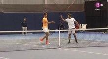 Rafa Nadal&Marc López / Doubles SF / Spanish Championships 2016 (+Interview)